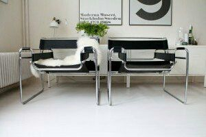 Wassily Chair - Mid Century style leather lounge chair for Sale in Silver Spring, MD