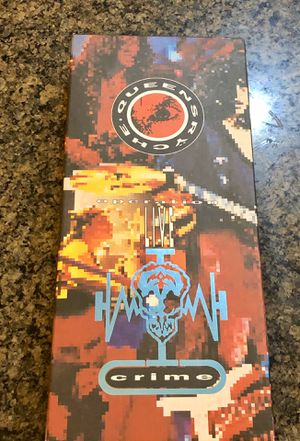 Vintage - 1991 Queensryche Operation Live Crime CD & VHS Box Set Booklet LIVECRIME. Missing CD, rest is intact. for Sale in Tolleson, AZ