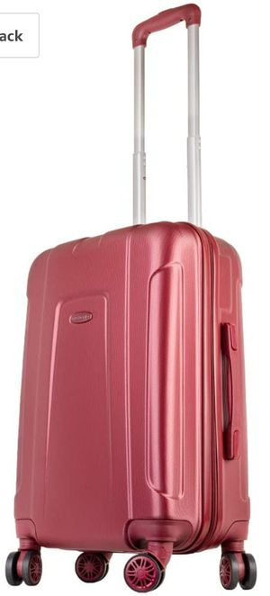 NEW - Bagaggio Saint Tropez 20'' Carry On - Lightweight Hardshell Spinner Luggage (Red) for Sale in Tustin, CA