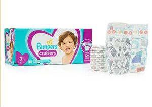 Pampers Cruisers Size 7 88ct Brand New Sealed for Sale in Brooklyn, OH
