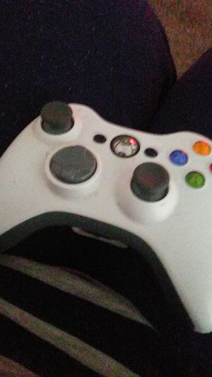 White black and grey Xbox controller for Sale in Columbus, OH