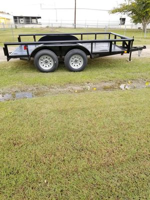 New Pipe Top 12ft trailer for Sale in Frisco, TX
