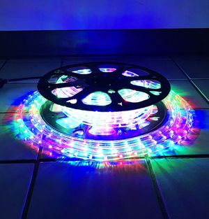 (New in box) $35 each 50' ft LED Rope Light Decorative Christmas Lighting Indoor Outdoor for Sale in Downey, CA