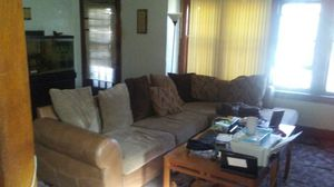 Ashley sectional for $1,200 no scratches no nothing wrong with this couch I have to move out of town so it's up for sale for Sale in Milwaukee, WI