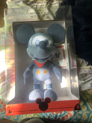 Disney Year of The Mouse Collector Plush - Train Conductor Mickey Mouse for Sale in New York, NY