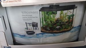 Deluxe LED 36 inch bowl front aquarium kit for Sale in San Jose, CA