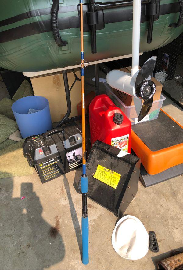 Sabre basstroker model 1162 fishing rod