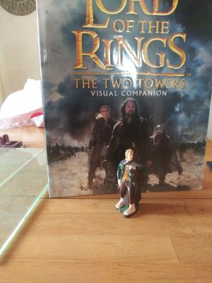 Lord of the Rings action figure with collectible Two Towers book for Sale in Worcester, MA