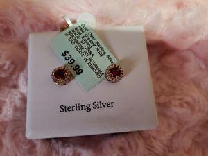 ruby red stone earrings for Sale in Denver, CO