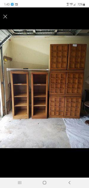 5 piece Oak bedroom set for Sale in Nashville, TN