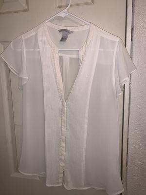 White short sleeve dressing shirt for Sale in Westminster, CA