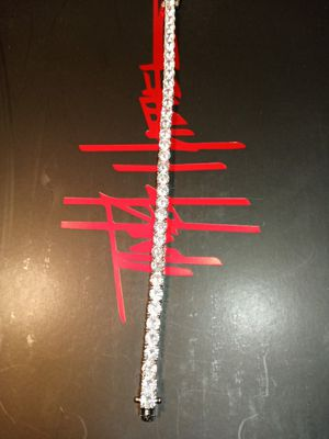 Diamond cz tennis bracelet for Sale in Houston, TX