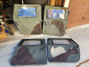 Humvee soft door kit Hummer H1 and hmmwv for Sale in San Diego, CA