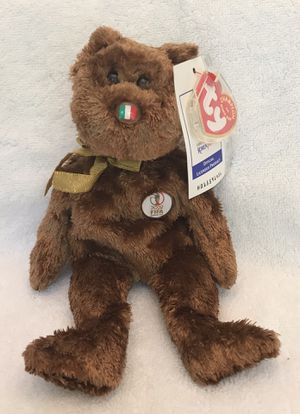 2002 FIFA ty beanie baby Italy 🇮🇹 soccer ⚽️ bear 🐻 for Sale in Roswell, GA