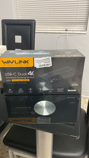 Wavlink dual 4k for Sale in Coral Gables, FL
