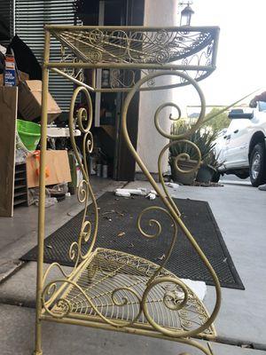 Metal corner household decoration (2) for Sale in North Las Vegas, NV