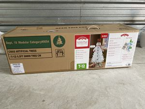 Snowman 6.5 Foot Pre-lite Christmas Tree for Sale in Maitland, FL
