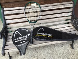 """Head"" Magnesium 2001 Tennis Racket With Cover and Carrying Case for Sale in Lake Stevens, WA"
