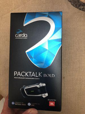 Cardo pack talk bold x2 for Sale in La Verne, CA