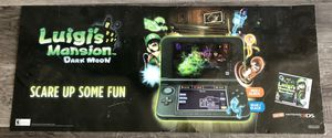 Luigi's Mansion Dark Moon Sign/Banner for Sale in Valrico, FL