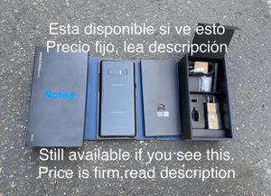 Samsung galaxy Note 8 64g Att &Cricket. Lea descripción antes de preguntar /Read description before asking for Sale in San Leandro, CA