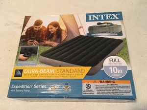 Full Size Air Mattress with Pump for Sale in Boston, MA
