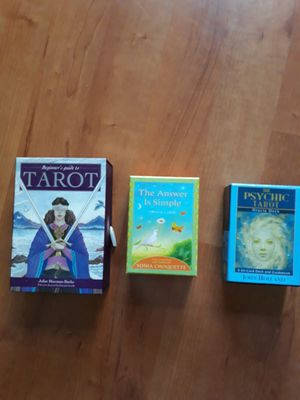 Tarot cards, psychic tarot and Oracle cards. for Sale in Portland, OR