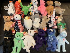 Beanie Babies Lot Of 54 Beanie Babies Great Shape for Sale in Portland, OR