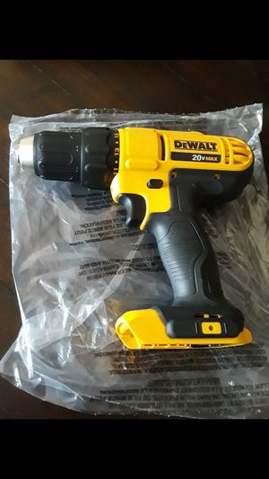 """Brand new dewalt 20v 1/2"""" drill 2-speed tool only no battery no charger $45 for Sale in Fresno, CA"""