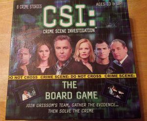 CSI board game for Sale in Woodbridge, VA