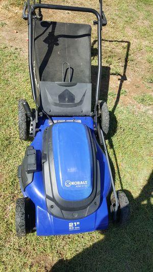 Kobalt electric lawnmower lawn mower for Sale in Chandler, AZ