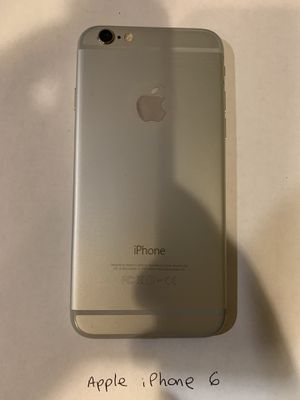 Apple iPhone 6 - 16GB Gigabytes - Silver for Sale in Port St. Lucie, FL