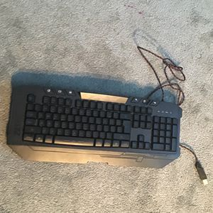 100% Gameing Keyboard In Good Condition Missing A Key for Sale in Encinitas, CA