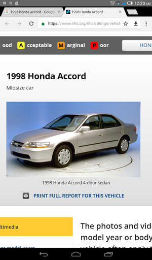 98 Honda Accord 4cyl V-Tec for Sale in Lancaster, OH