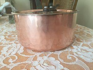 Copper sauce pot for Sale in La Costa, CA