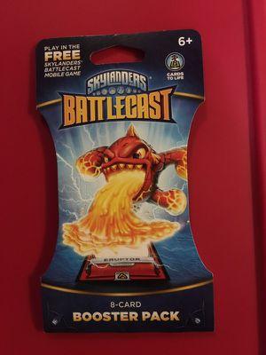 Skylanders battlecast 8 card booster pack for Sale in Salem, SD