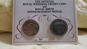 Royal wedding crown coin for Sale in Katy, TX