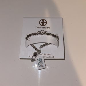 Sterling Silver Adjustable Bracelet for Sale in Houston, TX