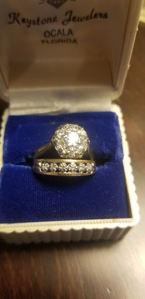 Antique Diamond Cluster Ring for Sale in Greer, SC