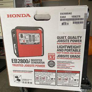Honda EU2800i Inverter Generator for Sale in Roy, WA