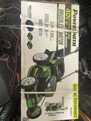 PowerSmith 40v Lithium Lawn Mower for Sale in Vidalia, GA