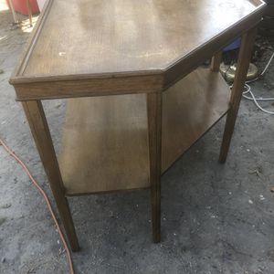 Solid wood corner shelf for Sale in Pasadena, TX