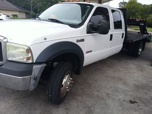 2006 ford f450 flatbed for Sale in Houston, TX