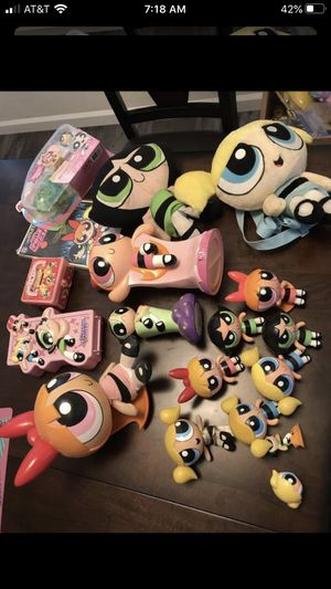 POWER PUFF GIRLS TOY LOT* for Sale in Fresno, CA