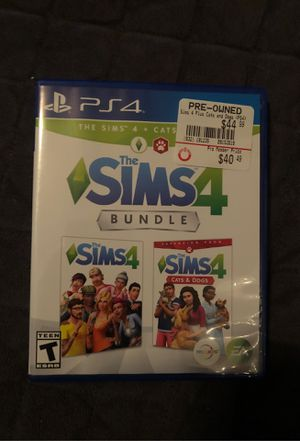 Sims 4 bundle for Sale in Pigeon Forge, TN