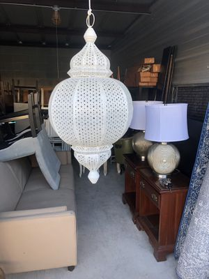 Hanging Moroccan style lanterns candle holder for Sale in San Antonio, TX