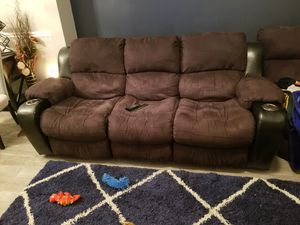 Ashley Furniture 3 piece sectional, 4 recling chairs for Sale in Nashville, TN