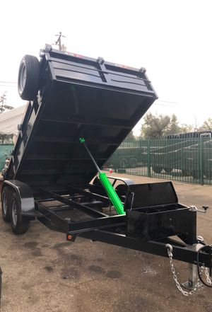 8x12x2 DUMP TRAILER NATM CERTIFIED for Sale in Mesa, AZ