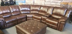 SECTIONAL WITH 2 RECLINERS for Sale in North Las Vegas, NV
