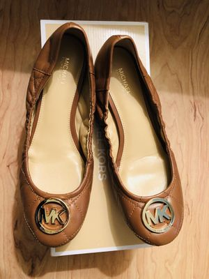 Brand New Michael Kors Brown Flat, 8.5 for Sale in Washington, DC